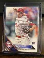 2016 Topps Series 1 Aaron Nola Rookie Card Phillies Ace