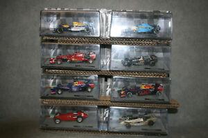 Fur Sammler Kovulut von 8 stuck  Formule 1 - F1 - Rennfahrzeuge 1:43