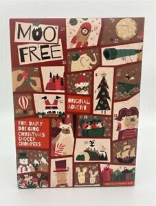 Moo Free Alternative to Milk Chocolate Advent Calendar Vegan 70g