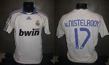 maillot shirt REAL MADRID 2007-2008 V.NISTELROOY camiseta   trikot foot jersey