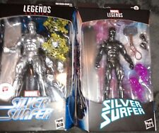 Marvel Legends Silver Surfer and Obsidian Surfer Walgreens Exclusive Lot