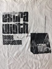 Vintage JSBX JON SPENCER BLUES EXPLOSION Extra Width theremin 2 sided tee shirt