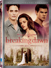 Twilight Saga: Breaking Dawn - Part 1 [Special Edition (2012, DVD NEW)2 DISC SET