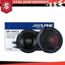 "Alpine SPJ-161C2 Type-J 6"" 2-Way 250Watts Peak Coaxial Car Audio Speakers"