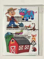 Crayola Farm Stencil Sticker Set 2014 NIP