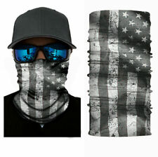 Face Mask Balaclava Neck Scarf Fishing Cover Sun Gator Uv Headwear Us Usa Flag
