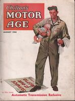 Chilton's Motor Age August 1955 Automatic Transmission Exclusive 100218ame