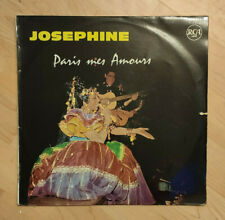 """33 tours Joséphine BAKER Vinyle LP 12"""" PARIS MES AMOURS -J'ATTENDRAI -RCA 430052"""