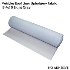 Vehicle/Marine Headliner Fabric Headlining Material with Foam Backed Grey 64x60