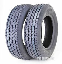 2 New Free Country Trailer Tire ST205/75D14 205 75 14 F78-14 Bias 6PR LRC