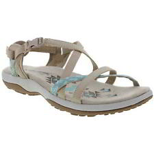 Skechers NEW Reggae Slim Vacay taupe sporty comfort sandals womens UK 5