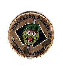 "Australian Army Commando Raider Platoon ""Without Warning"" patch"