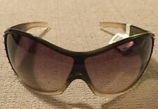 Authentic Donna Karan Women's Sunglasses DK1012 3161/13 0146 BRW/BRW