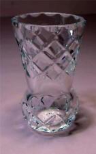 Vintage CRYSTAL GLASS Thistle Bud VASE  SirH70