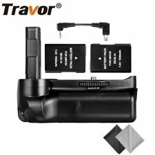 Travor Battery Grip Impugnatura per Nikon D3100 D3200 D3300 + 2 Batterie EN-EL14