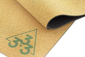 Cork Yoga Mat - Large Thick & Wide Natural Rubber Mats - Organic Non Toxic,72x26