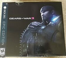 Gears of War 3 Epic Edition Xbox 360 - Statue and Collectibles only - NO GAME
