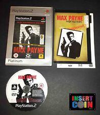 JUEGO MAX PAYNE (PAL UK) PLAYSTATION 2  PS2 PS3