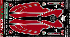 Ducati Panigale 1299 / S 959 2015 16 Knee Tank Number Board Motografix Protector