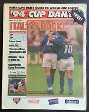 WM - World Cup USA 1994 - Germany - Bulgaria + Brazil - Netherlands, 10.07.1994