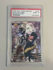 2000 Collector's Edge Graded Uncirculated Ricky Williams /5000 #135 PSA 9