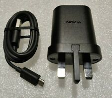 Genuine AD-5WX Micro USB Mains Charger with 1.2m Cable UK Plug for Nokia Phones
