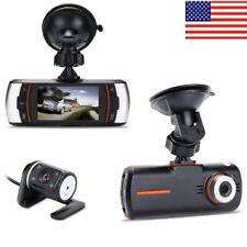 Accfly Dash Cam 2.7 inch LCD FULL HD 1080P 140° Dual Dashboard Camera