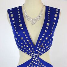 Jovani USA Designer NWT Long Royal Size 6 Prom Formal Evening Gown Dress New