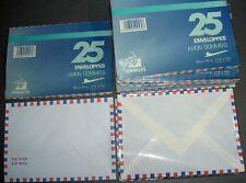 25 enveloppes gommées PAR AVION, 114x162 made in France HERAKLES papier 50gr lot
