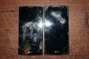 Lot of 2 Used & Untested LG Volt 2 LS751 Smart Phones For Parts Or Repairs Only