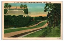 1946 Gov. Ritchie Highway between Baltimore and Annapolis, MD Postcard
