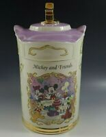 LENOX DISNEY ANIMATED CLASSICS CANISTER COLLECTION FLOUR MICKEY AND FRIENDS NIB