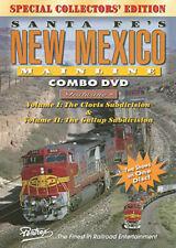 Santa Fe's New Mexico Mainline Combo DVD Pentrex Clovis Gallup Subdivision Abo