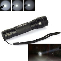 1 Mode UltraFire WF-501B 2000LM Cree T6 LED 18650 Tactical Flashlight Torch Lamp