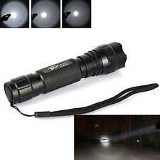 UltraFire WF-501B 1500LM Cree T6 LED 18650 Tactical 1 Mode Flashlight Torch Lamp