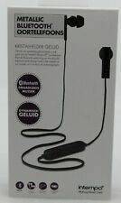 Intempo Metallic Bluetooth In-Ear-Kopfhörer Earphones schwarz 16 dB 10m NEU