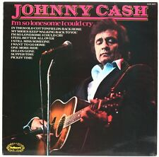 I'm So Lonesome I Could Cry  Johnny Cash Vinyl Record