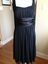 Jump New Empire Dress Special Occasion Size 8 Solid Black Polyester  CD