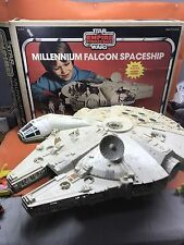 Vintage STAR WARS MILLENNIUM FALCON W/ Box ALL ORIGINAL Near Complete
