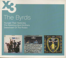 THE BYRDS - x3; very rare 3-CD Box Set , New. Younger / Notorious / Sweetheart