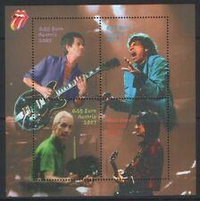 AUSTRIA 2003, ROLLING STONES MUSIC MNH BLOCK STAMP ( B - 197 )