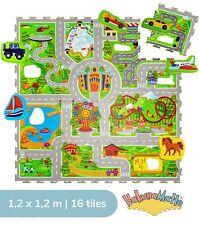 Hakuna Matte® Urlaub Puzzlematte für Kinder 1,2x1,2m, 16 Platten in einer Tasche