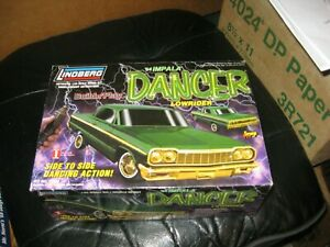MIB 1964 Impala Dancer Lowrider by Lindberg in 1/25 scale from 1999