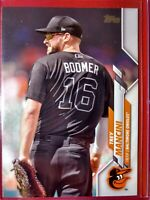 "2020 Topps Series 2 Trey ""Boomer"" Mancini Photo Variation Baltimore Orioles #458"