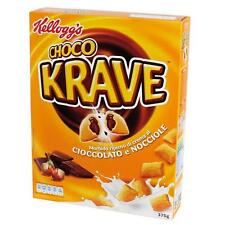 Céréales Kellogg's Choco Nut Krave Chocolat Noisette 375 Gr Pummelchen Fondant