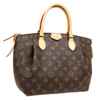 LOUIS VUITTON TURENNE PM 2WAY HAND BAG MB4107 PURSE MONOGRAM CANVAS M48813 31804