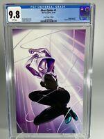 Ghost-Spider #1 CGC 9.8 Crain Virgin Variant Cover Edition  COA LTD 600