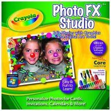 Crayola Photo Fx Studio Core Learning Windows Pc Children Kids Photo Editing Art