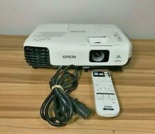 EPSON VS230 LCD PROJECTOR/ POWERCORD/REMOTE LAMP HOURS NORMAL 463H ECO 159H