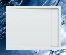 Duschbecken 1000x800 mm bzw. 800x1000 mm mit integrierter Duschrinne / Duschwann